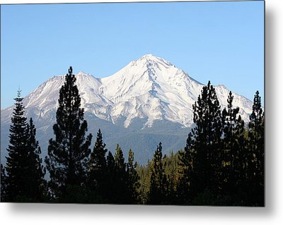 Mt. Shasta - Her Majesty Metal Print
