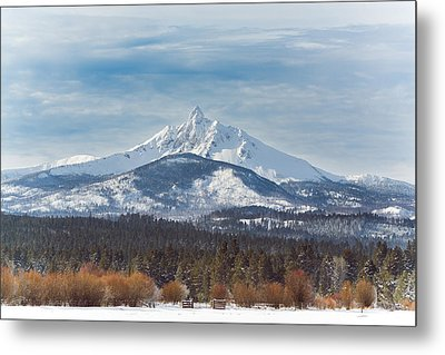 Mt. Washington Metal Print by Joe Hudspeth