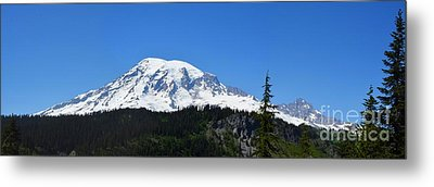 Mt.rainier Metal Print by Scott Cameron