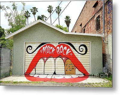 Muck Rock Metal Print by Nina Prommer