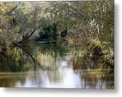 Metal Print featuring the photograph Muckalee Creek by Jerry Battle