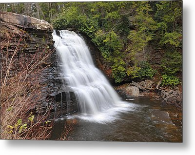 Metal Print featuring the photograph Muddy Creek Falls by Dung Ma