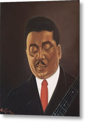 Muddy Waters  Metal Print by Helen Thomas