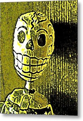 Muertos 1 Metal Print by Pamela Cooper