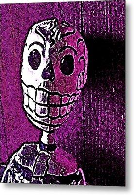 Muertos 3 Metal Print by Pamela Cooper