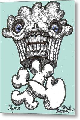Muffyn Metal Print