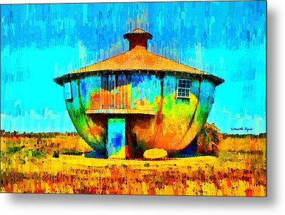 Mug House - Da Metal Print by Leonardo Digenio