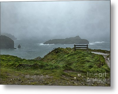 Metal Print featuring the photograph Mullion Cove by Brian Roscorla
