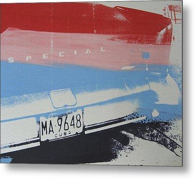 Multicolor Fender Metal Print by David Studwell