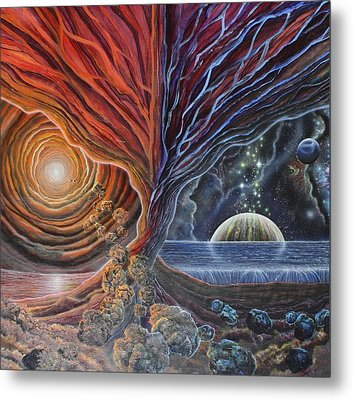 Multiverse 3 Metal Print by Sam Del Russi
