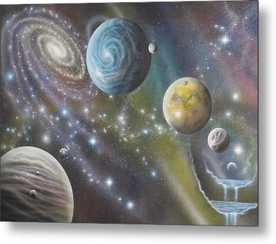 Multiverse 62 Metal Print by Sam Del Russi