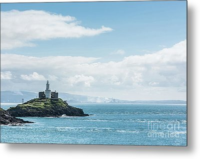 Mumbles Lighthouse 2 Metal Print by Steve Purnell