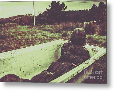 Murder Body Bag Metal Print by Jorgo Photography - Wall Art Gallery