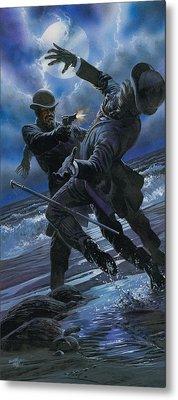 Murder Metal Print by Oliver Frey