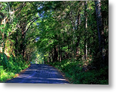 Metal Print featuring the photograph Murphy Mill Road - 2 by Jerry Battle