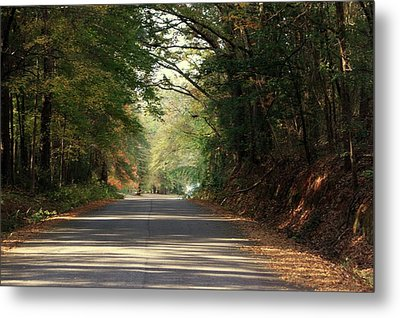 Metal Print featuring the photograph Murphy Mill Road by Jerry Battle