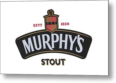 Murphys Irish Stout Metal Print