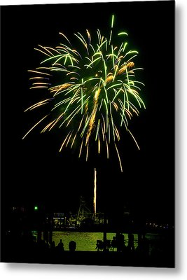 Metal Print featuring the photograph Murrells Inlet Fireworks by Bill Barber