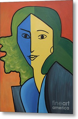 Muse For Matisse Metal Print by Barbara McMahon