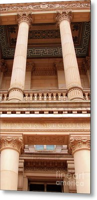 Metal Print featuring the photograph Museum And Art Gallery Entrance by Baggieoldboy