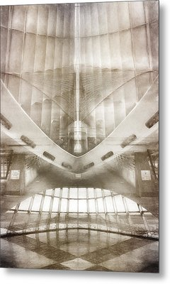 Museum Inside Out Metal Print