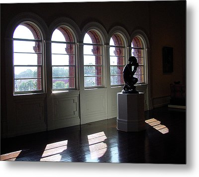 Museum Light Metal Print by Shirley Heyn
