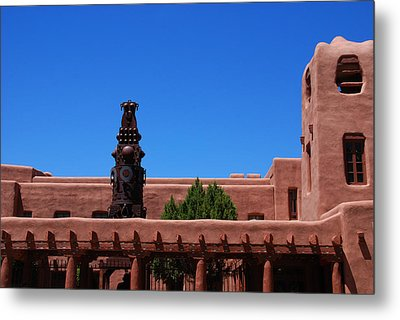 Museum Of Indian Arts And Culture Santa Fe Metal Print by Susanne Van Hulst