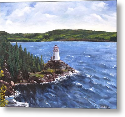 Musgravetown Lighthouse Metal Print
