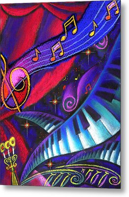 Music And Harmony Metal Print