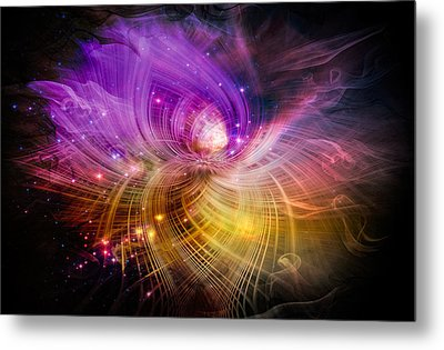 Music From Heaven Metal Print by Carolyn Marshall