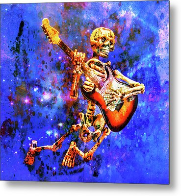 Music In The Air Metal Print by Jeff Gettis