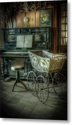 Music Is Childs Play Metal Print