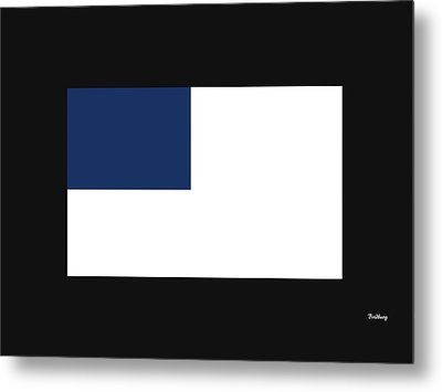 Metal Print featuring the digital art Music Notes 14 by David Bridburg