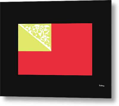 Metal Print featuring the digital art Music Notes 2 by David Bridburg