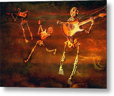Music Of The Souls Metal Print by Jeff Gettis
