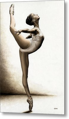Musing Dancer Metal Print