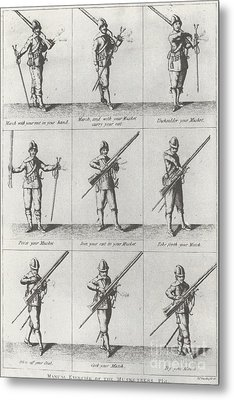 Musketeer Manual Metal Print by Frederick Holiday