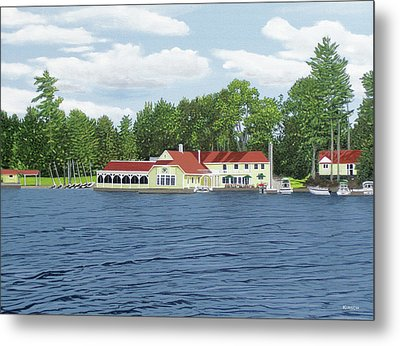 Metal Print featuring the painting Muskoka Lakes Golf And Country Club by Kenneth M Kirsch