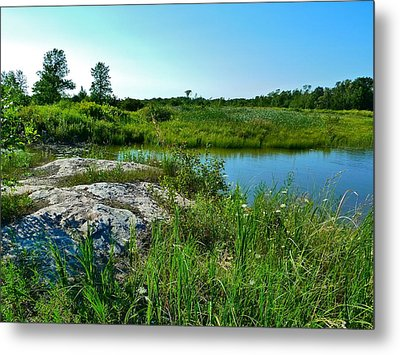 Metal Print featuring the photograph Muskoka Ontario 4 by Claire Bull