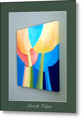 My Abstract Tulip Metal Print by Carola Ann-Margret Forsberg