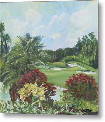 My Backyard Metal Print by Shelley Overton