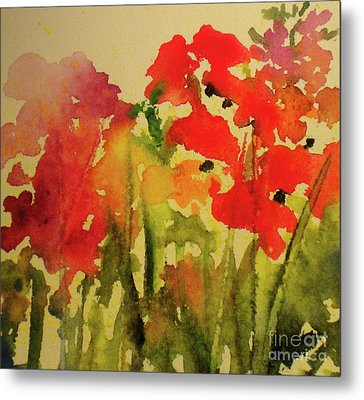 My Cottage Garden At Silver Vista Metal Print