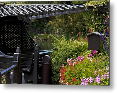 My Deck Metal Print by Ivete Basso Photography