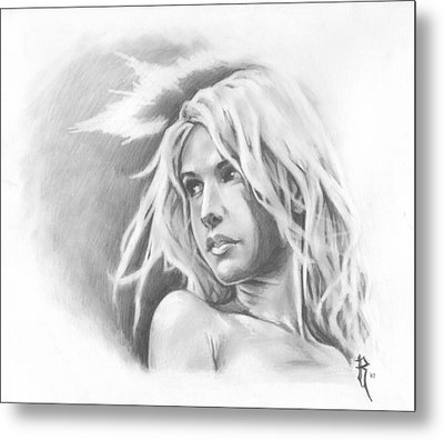 My Ethereal Angel Metal Print by Ronald Barba