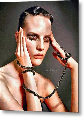 My Eyes Metal Print by Leonardo Digenio