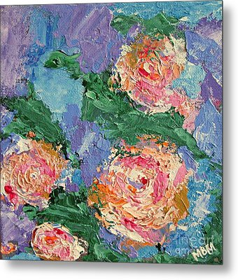 My Father's Roses Metal Print
