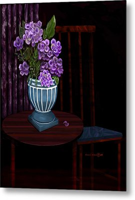 Metal Print featuring the painting My Favorite Things by Sena Wilson