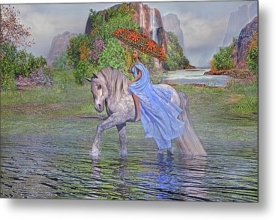 My Favorite Time Of The Day Metal Print by Betsy Knapp