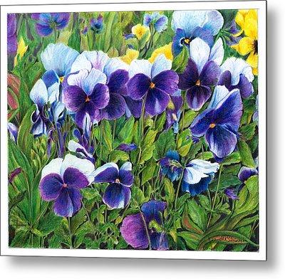 My Field Of Flowers Metal Print by Jeanette Schumacher