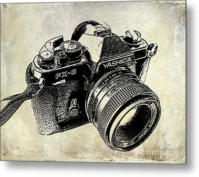 My First Camera Metal Print by Jon Neidert